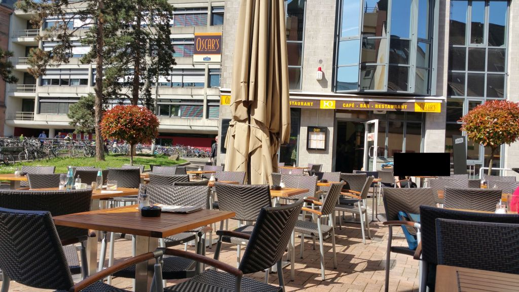 Cafe In Freiburg City